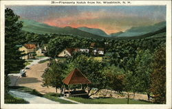Franconia Notch from No. Woodstock, N.H