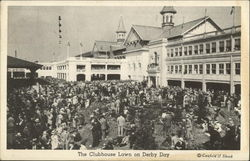 The Clubhouse Lawn on Derby Day