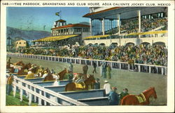 The Paddock, Grandstand and Club House, Agua Caliente Jockey Club, Mexico
