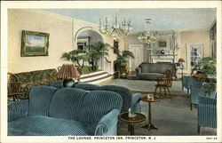 The Lounge at Princeton Inn