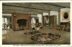 The Lobby, Sweetheart Tea House, Mohawk Trail