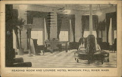 Reading Room and Lounge at Hotel Mohican