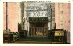 Inside the Singing Tower, Near Lake Wales Postcard