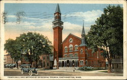 Town Hall and Methodist Episcopal Church
