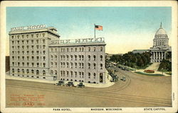 Park Hotel and State Capitol