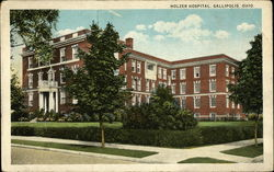 Holzer Hospital Postcard