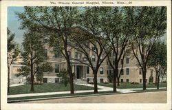 The Winona General Hospital Postcard