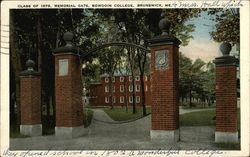 Class of 1878 Memorial Gate, Bowdoin College
