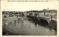 Children's Bathing Pool, Point O'Woods Beach