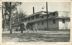 Service Center, Ordnance Training Center, Aberdeen Proving Ground