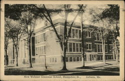 New Webster Grammar School on Hampshire St