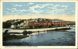 Edwards Mills, Kennebec Dam