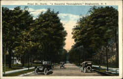 "Front Street, North - ""A Beautiful Thoroughfare"" Postcard"