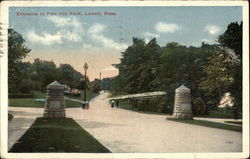 Entrance to Fort Hill Park