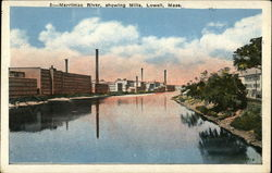 Merrimac River showing Mills