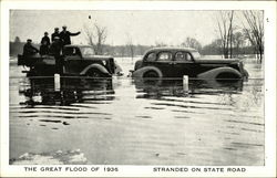 The Great Flood of 1936, Stranded on State Road