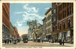 Merrimac Street from Central Street