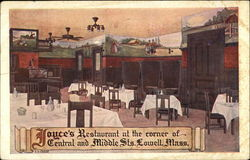 Joyce's Restaurant at the Corner of Central and Middle Sts