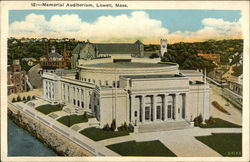 Bird's Eye View of Memorial Auditorium