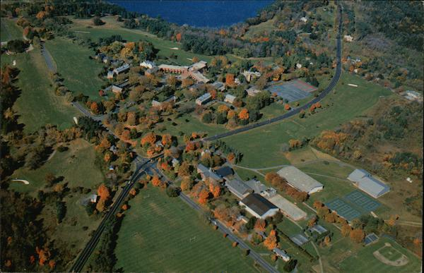 Aerial View of The Hotchkiss School Lakeville Connecticut