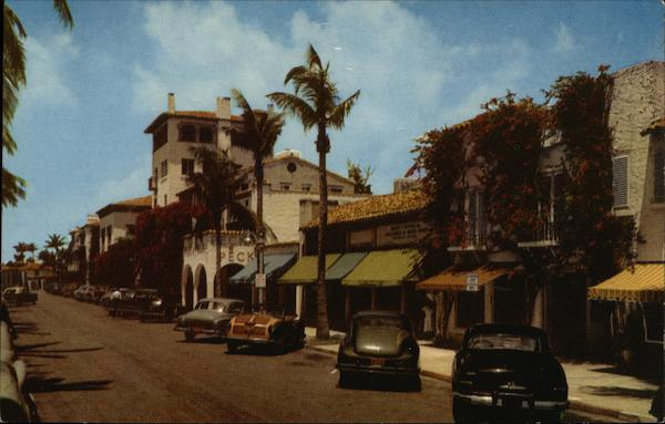 Worth Avenue - Famous the World Over Palm Beach Florida