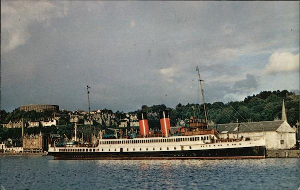 RMS King George V Oban Perth Scotland