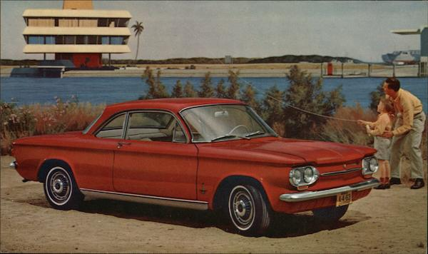 1963 Chevrolet Corvair, Monza Club Coupe Cars