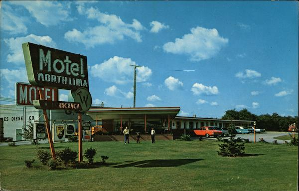 Bill Davis's North Lima Motel, Rt. 7 at Ohio Turnpike Exit 16