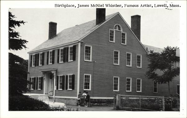 Birthplace of James McNeil Whistler, Famous Artist Lowell Massachusetts