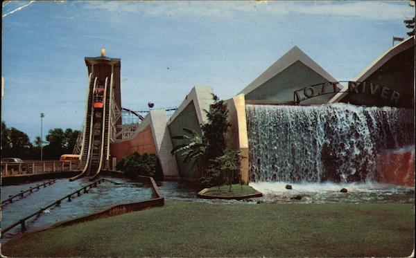 The Lost River At Coney Island Cincinnati Oh