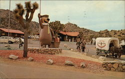 Yogi Bear's Covered Wagon and Ranger STation