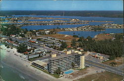 Air View of Beautiful Redington Beach Postcard