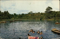 Wendit Swimming Area in East Java