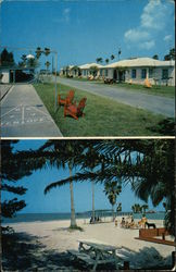 Pembroke Terrace Apartment Motel Postcard