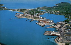 Air View of Woods Hole