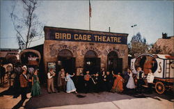 The Old Birdcage Theatre in Ghost Town, Knott's Berry Farm