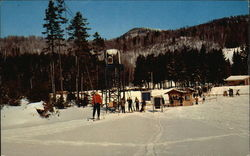 Middlebury College Snow Bowl Postcard
