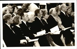 Five Presidents (and Wives) Pay Final Respect at Pres. Nixon's Funeral