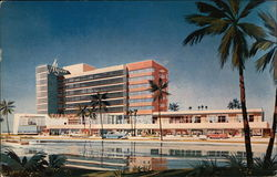 "Hotel Algiers - ""A World In Itself"" - Oceanfront at 25th to 26th Street Postcard"
