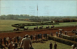 Parade to the Post at Keeneland Race Course
