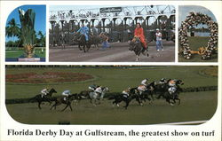 Florida Derby Day at Gulfstream, the Greatest Show on Turf