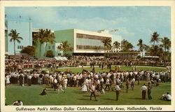 Gulfstream Park Clubhouse - Paddock Area