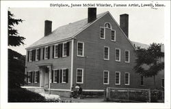 Birthplace of James McNeil Whistler, Famous Artist