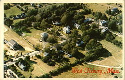 Aerial View of West Tisbury, Mass
