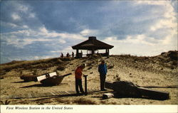 First Wireless Station in the United States Postcard