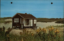 Henry Beston's house on the Beach, Cape Cod