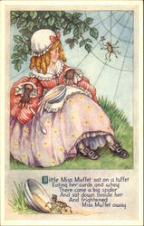 Little Miss Muffet Sat on a Tuffet Eating Her Curds and Whey