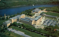 Aerial view of the General Electric Research Laboratory