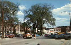 Central Square and Main Street