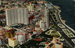 Partial View of Vedado Including Maine Plaza and Focsa Building